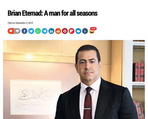 Dr. Brian Etemad, Esq. CEO & Founder
